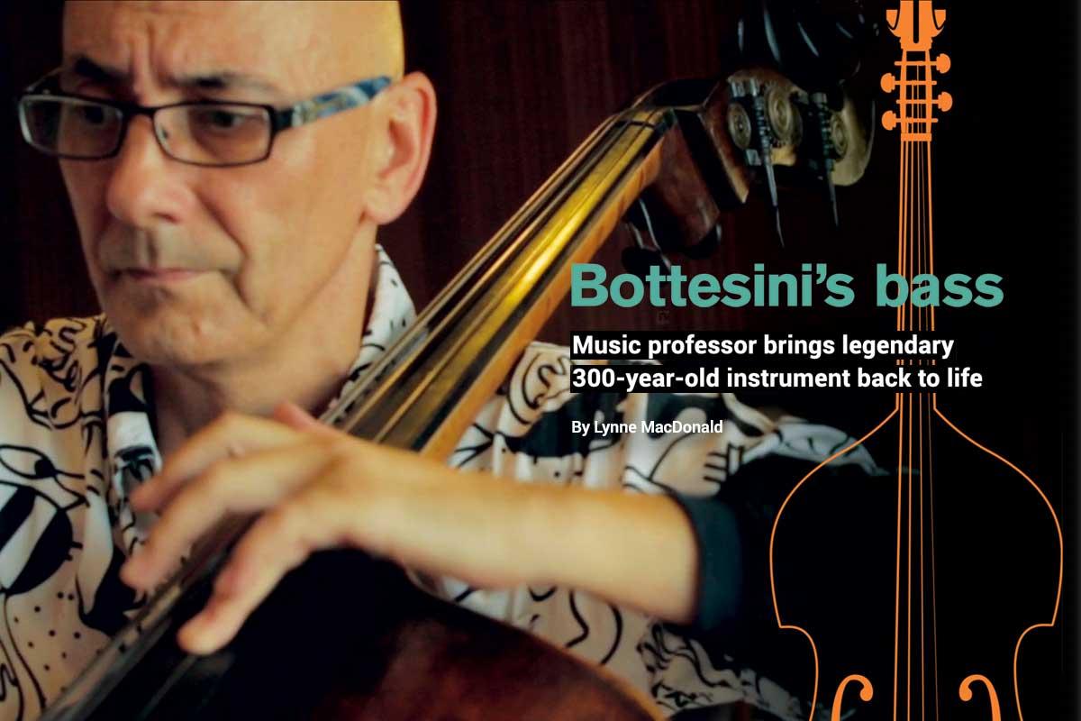 Bottesini's Bass played by Professor Catalin Rotaru