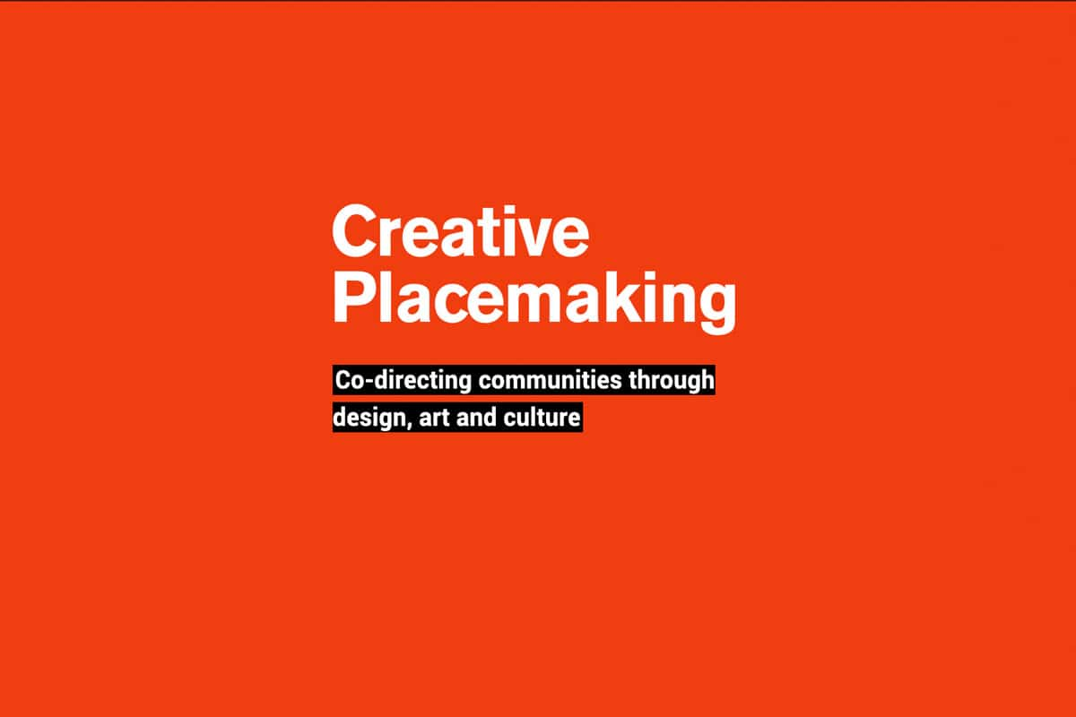 Creative Placemaking - text