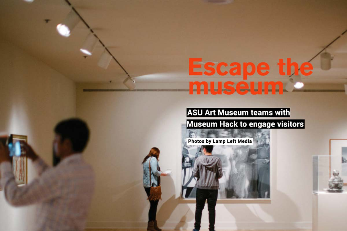 escape the museum text with museum photo