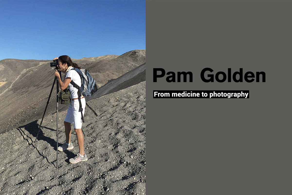 Pam Golden taken photo in desert