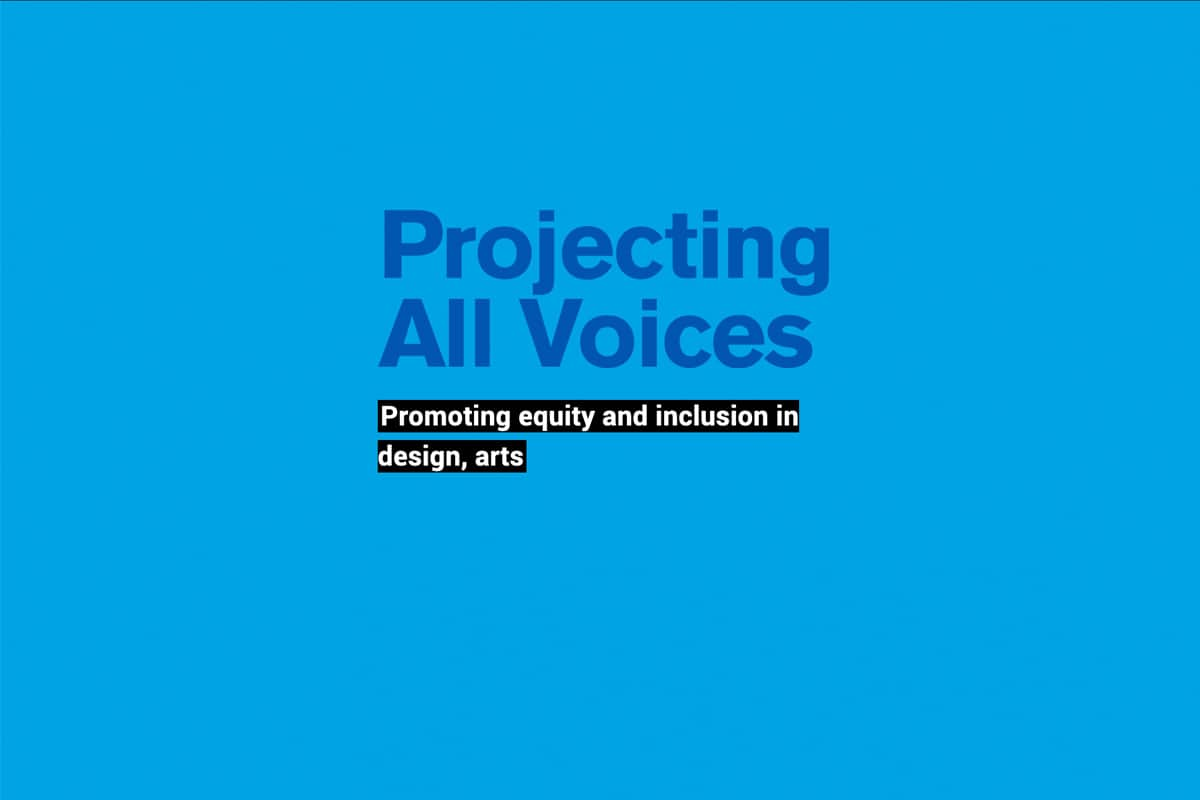 Projecting All Voices - text