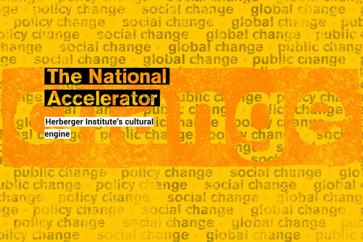 The National Accelerator : Herberger Institute's cultural engine (text)