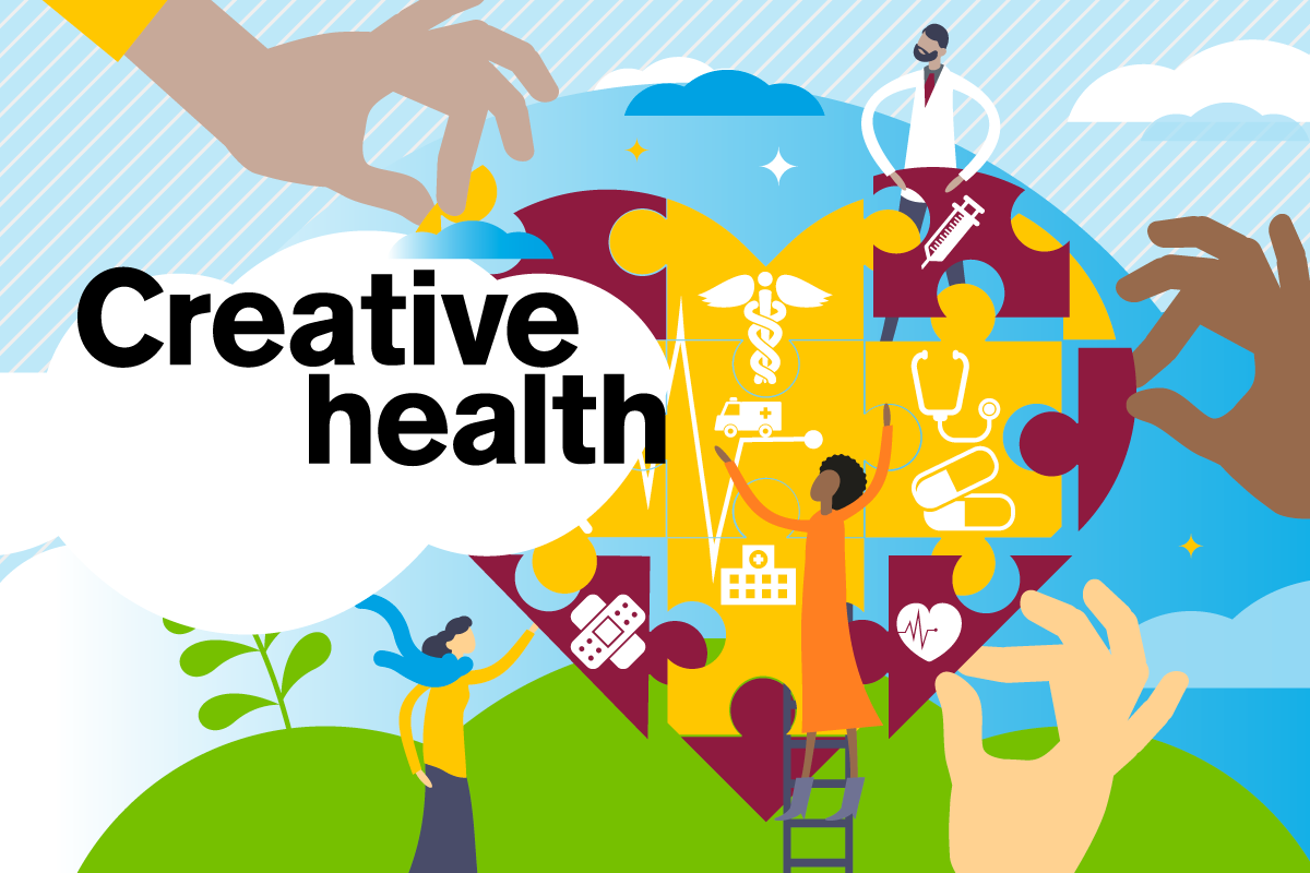 creative health with the design and arts
